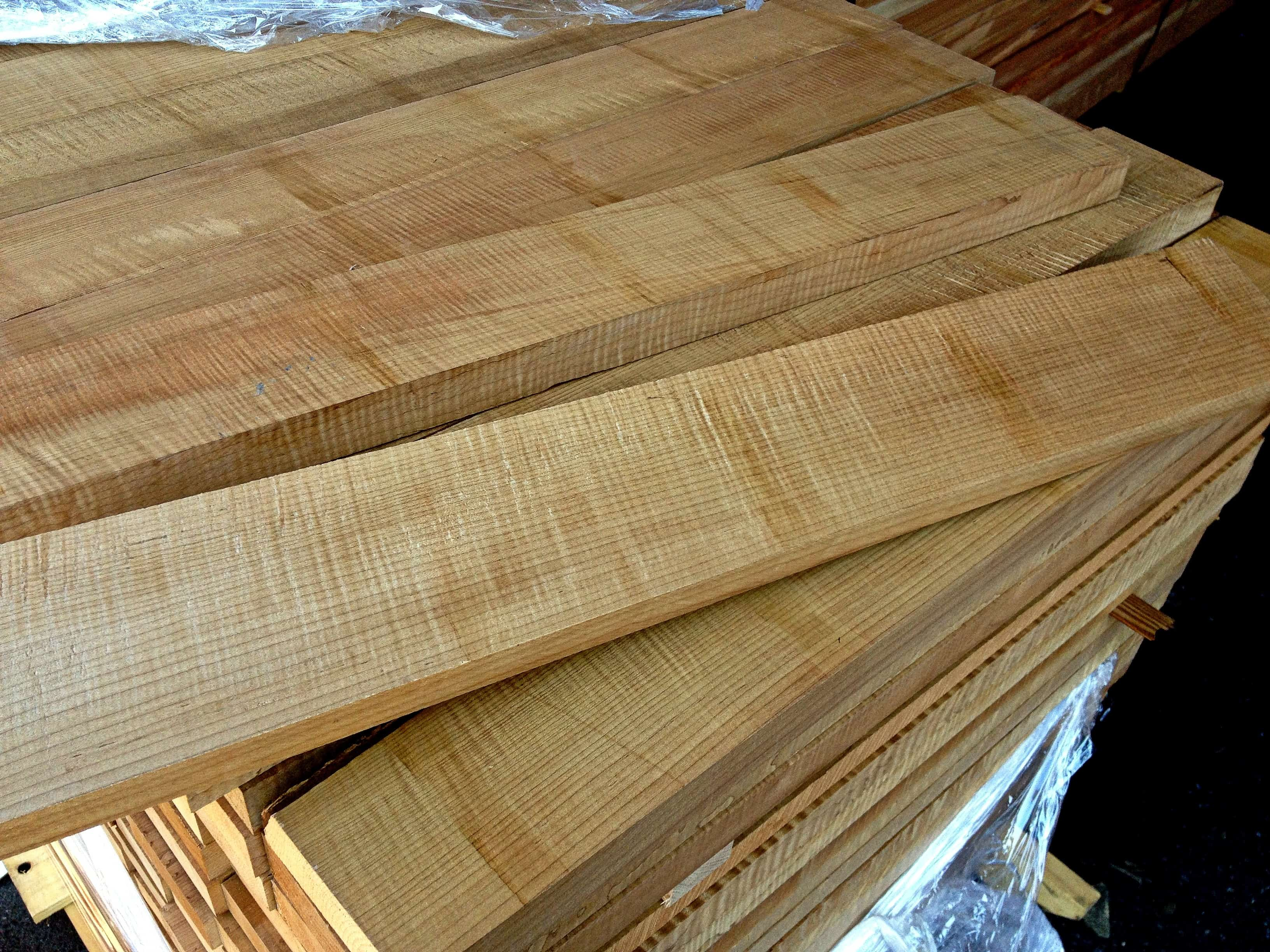 "Yellow Cedar Soundboard Guitar Wood Blanks 24/"" x 7/"" Edge Grain"